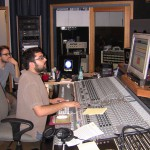 Chris recording Oblivious