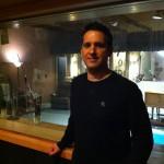 Tim in the studio