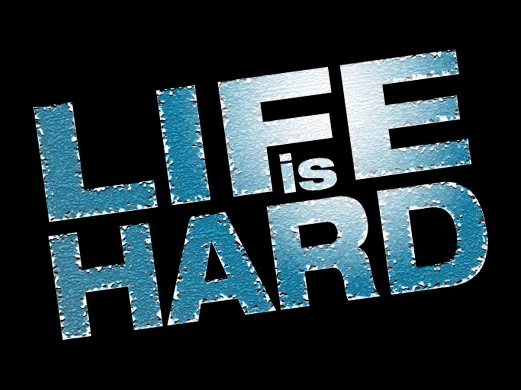 when life is hard Loving god when life is easy is no challenge loving god when life is horrible - that's a challenge that god equips us for.